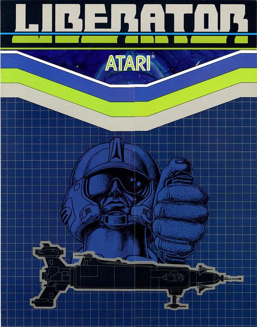 Liberator #cover #video #game #atari