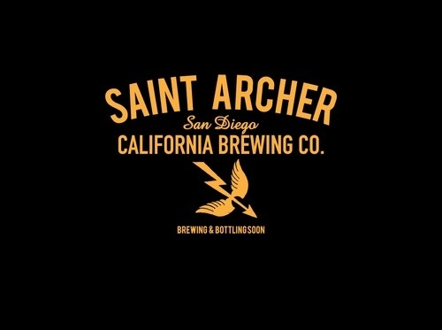Saint Archer Brewing Co. #brewery #beer #food #logo #lockup #spirits #type