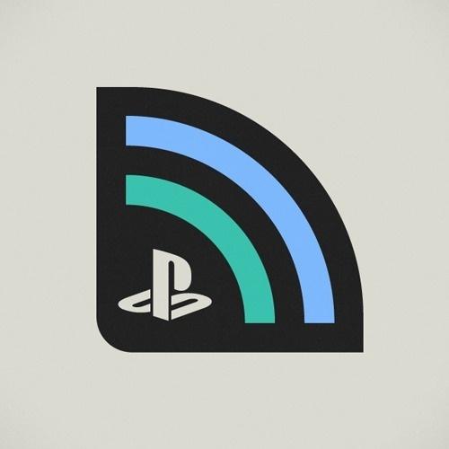 Official PlayStation Blogcast Branding - Cory Schmitz #branding