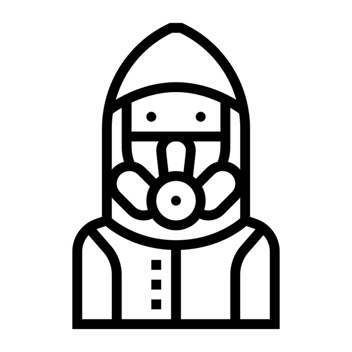 See more icon inspiration related to suit, clothing, lab, laboratory, chemical, safety, protection, education, user, chemistry and science on Flaticon.