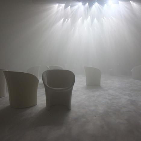 Twilight by Tokujin Yoshioka for Moroso #installation