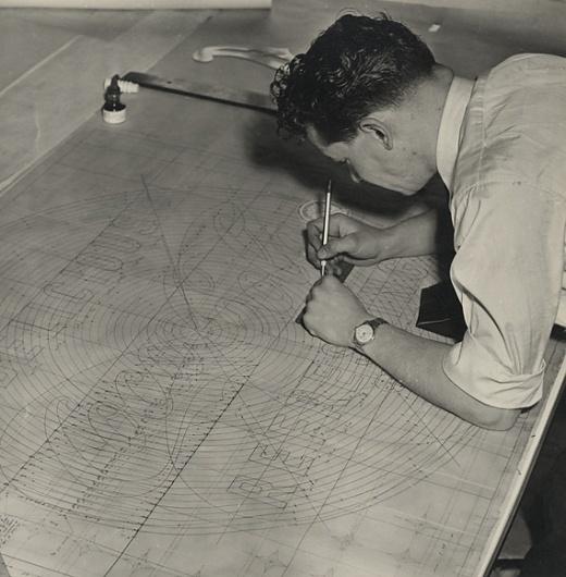 Creative Review - The making of a Coca-Cola neon sign, 1954 #coca #logo #cola