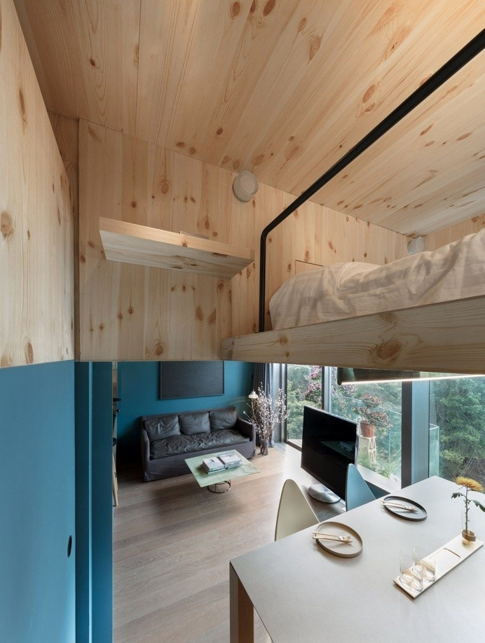 The Mini Treehouse is an Example of How Small Residential Spaces Can be Used Efficiently 3