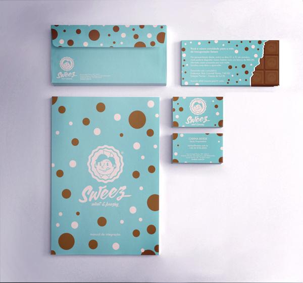 Sweez Branding and Packaging Identity by Maurício Cardoso | Abduzeedo Design Inspiration #business #branding #packaging #logo #cards