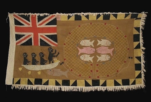 asafo flag akra small[3].jpg 512×346 pixels #flag #illustration #drawing #textile