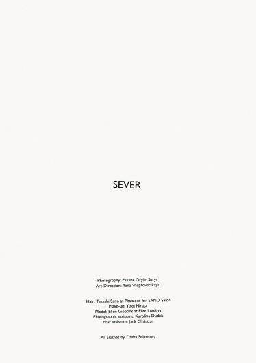 SEVER   Volt Café   by Volt Magazine #beauty #white #design #graphic #volt #black #photography #art #and #fashion #layout #magazine #typography