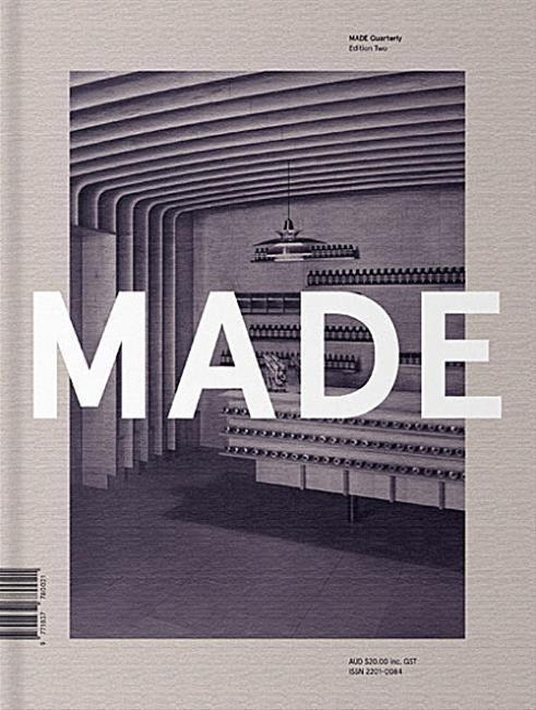 MADE #cover #mono #magazine #typography