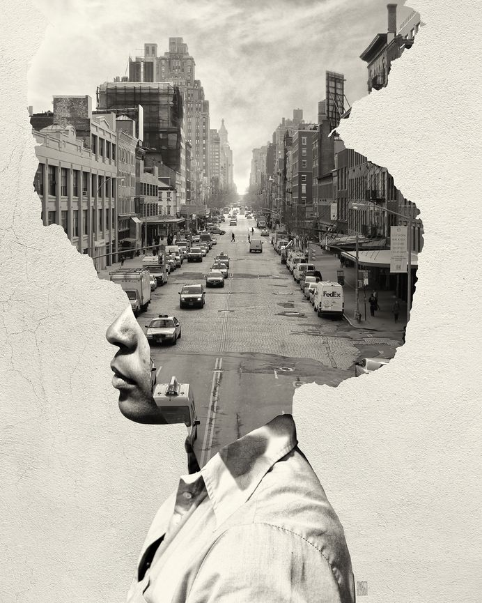 Doble exposición de alto contraste – Blog de diseño gráfico y creatividad.