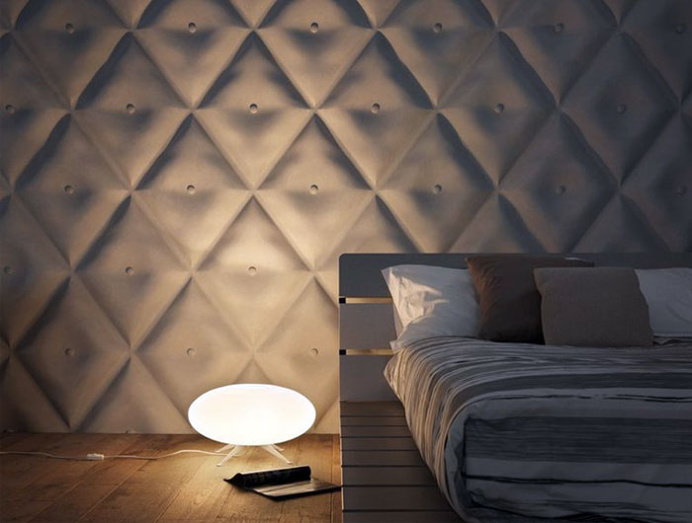 3D Wall Panel by Jacopo Cecchi and Romano Zenoni - #wallcoverings, #walls, #walldecor,