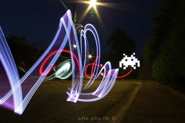 Light Painting Photography by Alexandre Bordereau #inspiration #photography #lightpainting