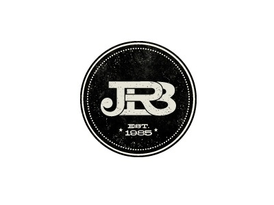Dribbble - Logo by Javiera R. Benavente #jrbenavente #logo #brand #jrb #type #typography