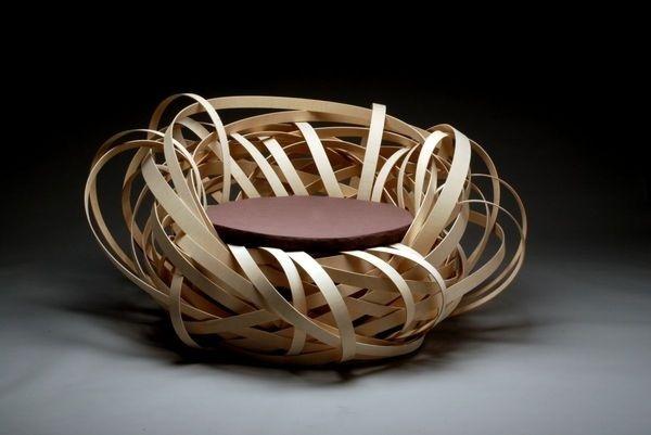 Simple Nest Chair Concept #interior #design #decor #home #furniture #architecture