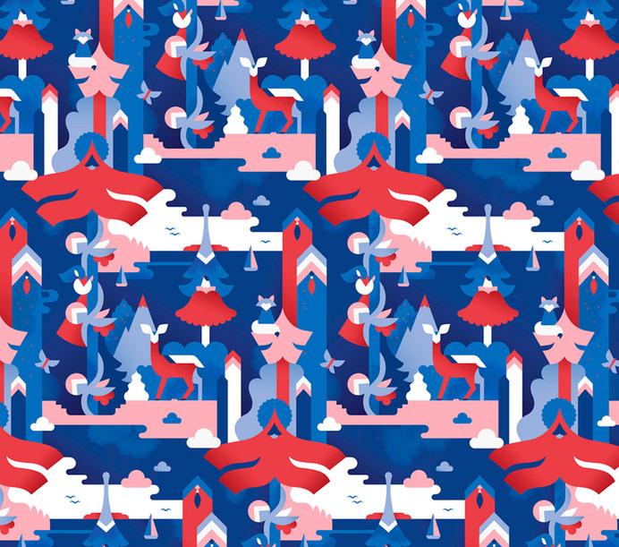 Paulig - JANINE REWELL #simple #pattern