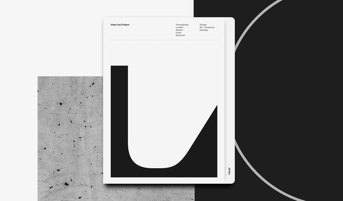USP Architects / Corporate Identity & Visual System on Behance