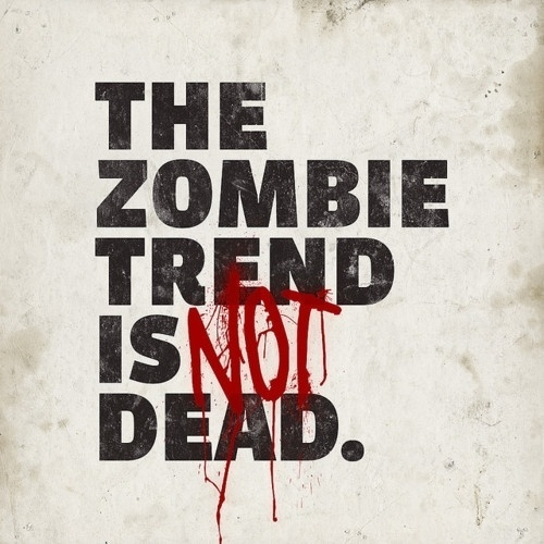 chris rushing #zombie #undead #type #zombies #typography