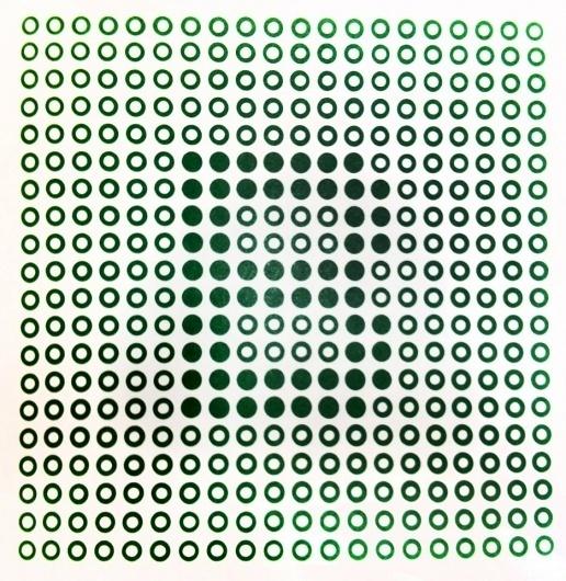 DesignInspiration #trademark #grids #circles #symbols #dots #grid #letter