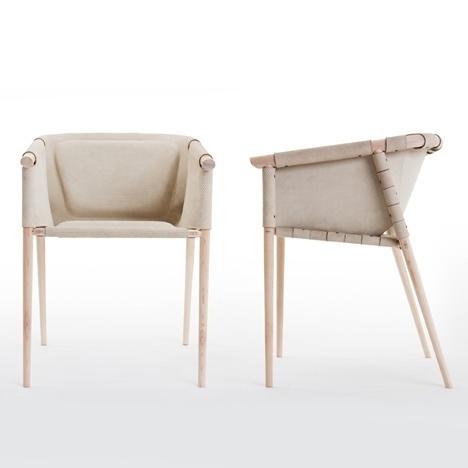 Dezeen » Blog Archive » Furniture by Benjamin Hubert for De La Espada #interior #chair #design #wood #furniture