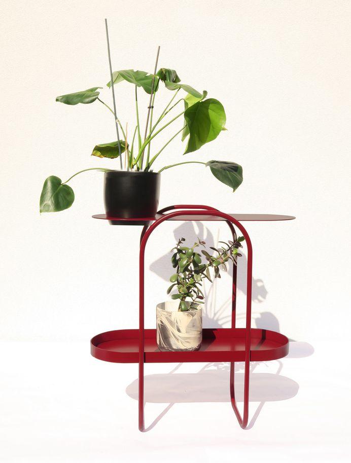 Bujnie Designs the Bauhaus-Inspired BonBon Collection of Plant Stands - Design Milk