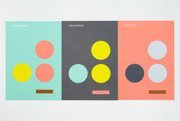 CEE by Blok #branding #print #colourful
