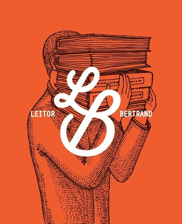 Leitor Bertrand artwork / by Vera Gomes #lettering #branding #design #graphic #typography