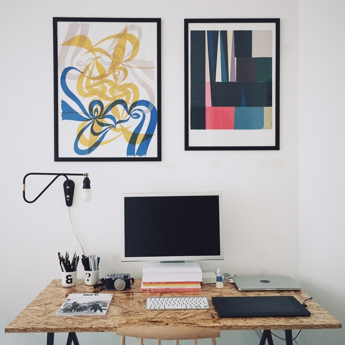 Rasmus Landgreen's desk