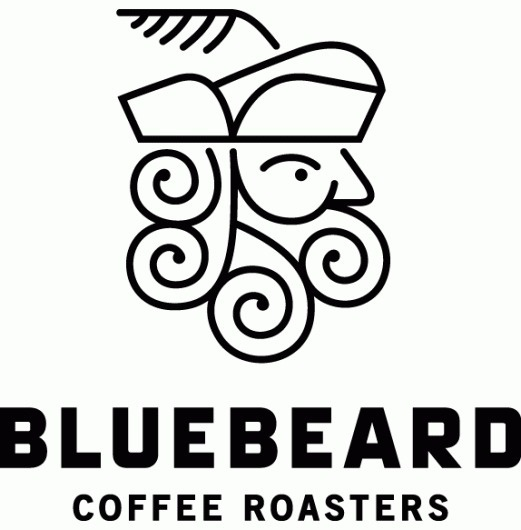 Friday Likes 04 - Brand New #line #swirls #bluebeard #art #coffee #logo #monostroke