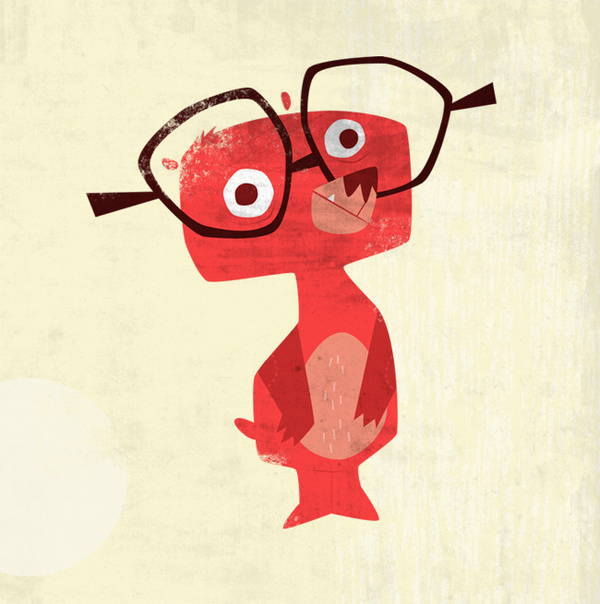 Source: jaredchapman.com #glasses #bear