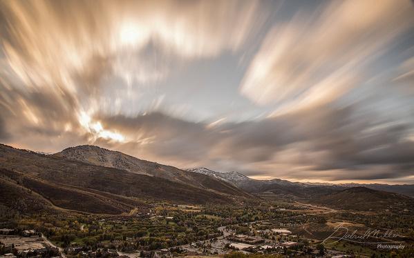 #sky#mountains#beautiful#evening