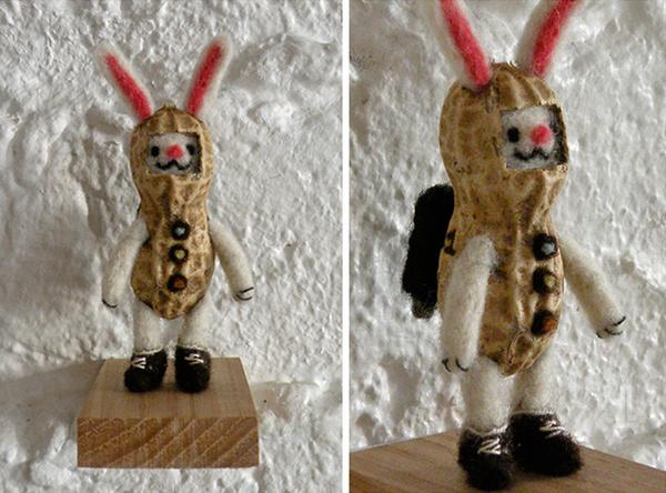 playful sculptires kazuki guzman designboom08 #bunny #character #art #peanut