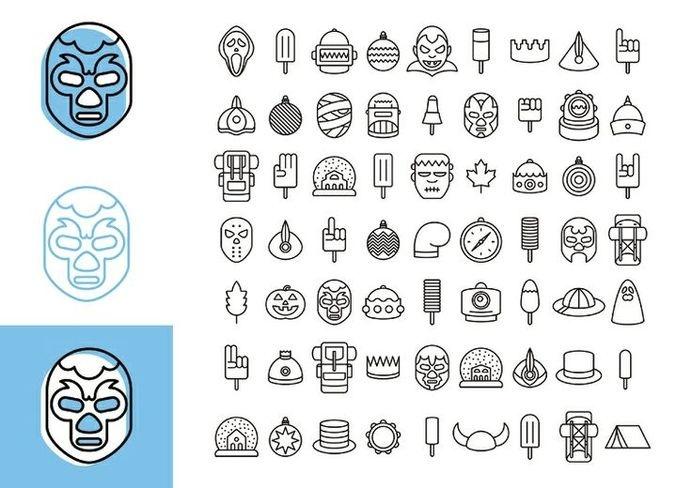 Sagrada Família / Laus 2014 — Fredic Barrera #vector #pictogram #branding #icon #laus #illustration #identity #barcelona #children