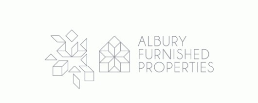 Albury Furnished Properties - Projects - A Friend Of Mine #logo #identity