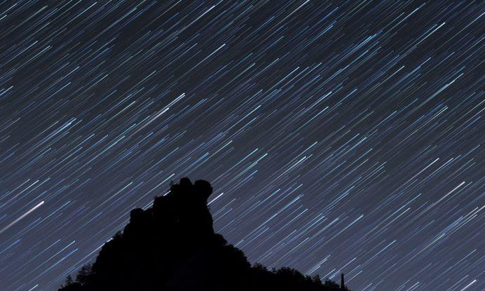 Mountain Stars Milky Way Trail – WallpapersBae