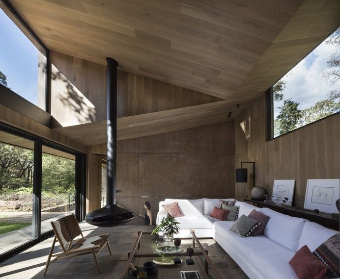 L-Shape Weekend House by Dellekamp Arquitectos 4