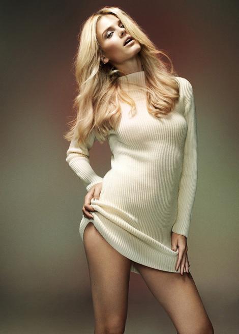 Sophia Lie в журнале Elle Norway #fashion #photography #beauty
