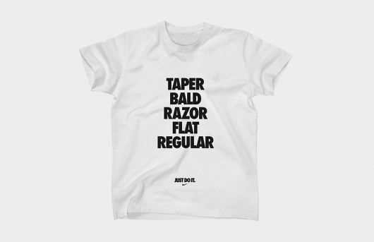 Butter #flat #white #just #do #regular #black #shirt #nike #it #taper #bald #type #razor