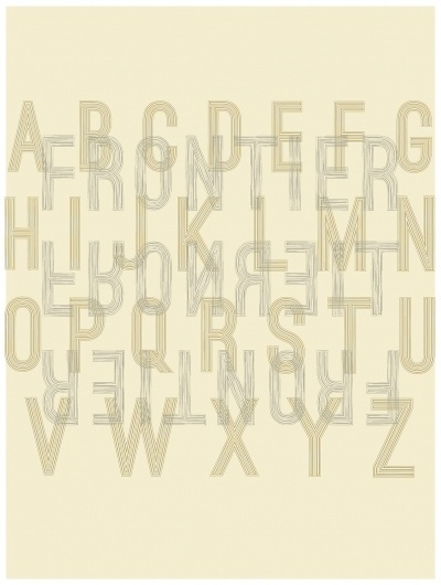 35cpnyo.jpg 1,207×1,599 pixels #frontier #alphabet #treatment #type #abc #typography