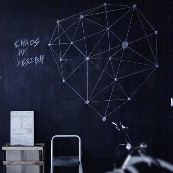 New stuff on my wall » @thisis_destruction » Instagram Profile » Followgram #chalk #wall #home