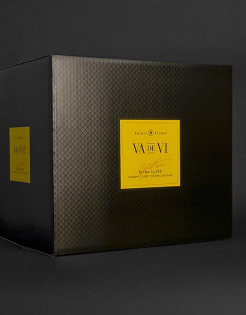 Va de Vi Wine Freixenet, USA Shipper California #packaging #boxed #wine