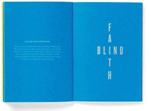 design work life » Pentagram: Today I'm Feeling Turquoise #typography
