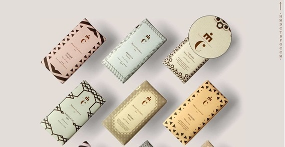 Creative Review A taste of the twenties #packaging #1920s #pastels #deco