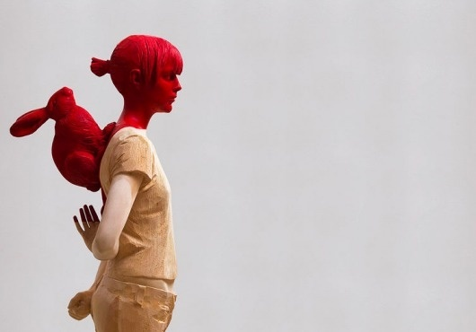 verginer14 | Fubiz™ #sculpture #red #people #colors #willy #art #verginer