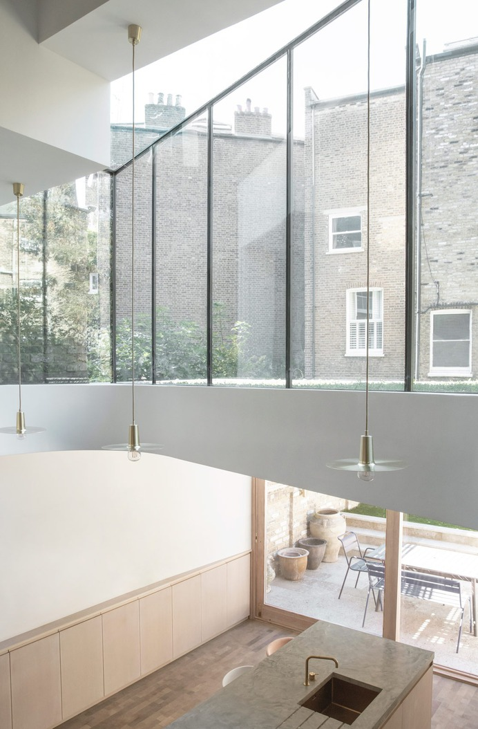 Brook Green House by Architecture for London