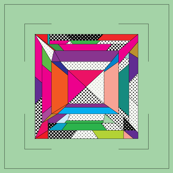 Illustrations : Adrineh Asadurian #throwback #color #bold #geometric #illustration