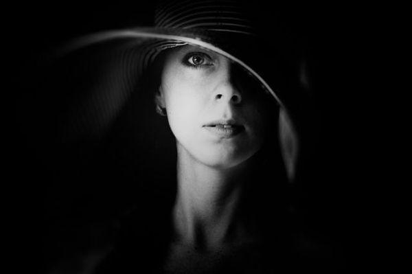 Female Portraits by Ann Nevreva #inspiration #photography #portrait