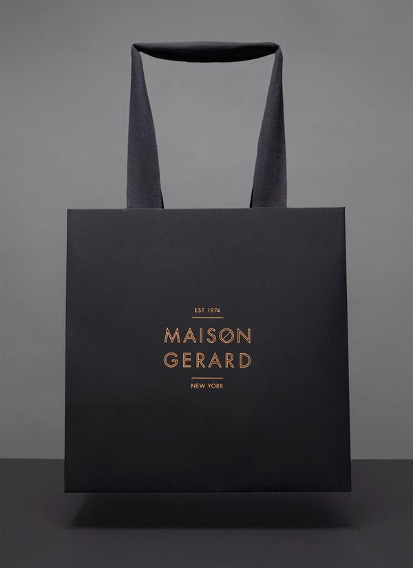 lovely stationery maison gerard 6 #branding #bag