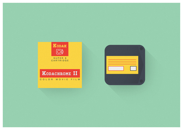 super 8 #1 - kodak kodachrome II super 8 cartridge from 72