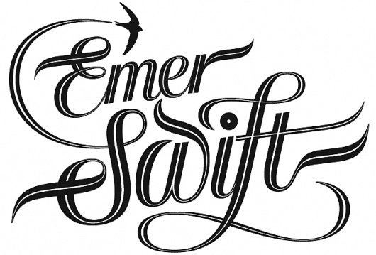 seblester.co.uk Type & Lettering #lester #white #swift #black #emer #idea #and #logo #seb