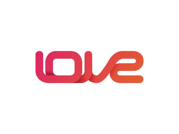 Love Dance Point logo #logotype #design #graphic #logo #estorde #love #typo