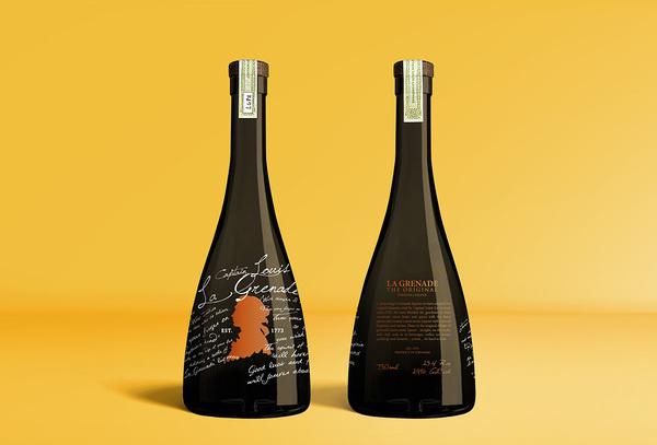 Liqueur Packaging Design by Port Clarendon #lettering #bottle #packaging #label #liqueur #identity #labeling