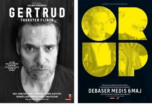 HFDP - Affischer #music #photo #poster #theatre